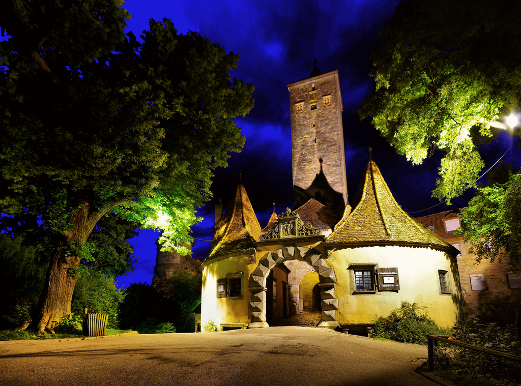 Rothenburg Tauber night