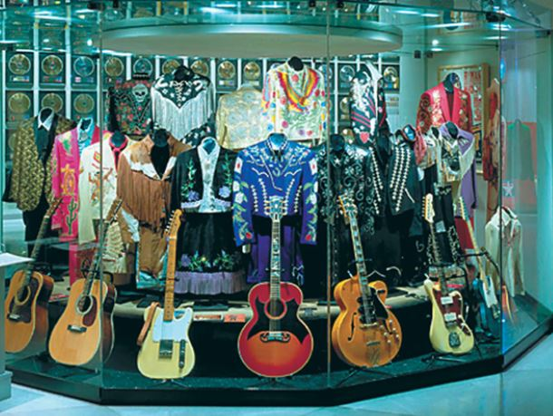 Country Hall of Fame exhibit