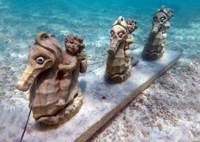 Underwater Sculpture Garden Great Stirrup Cay
